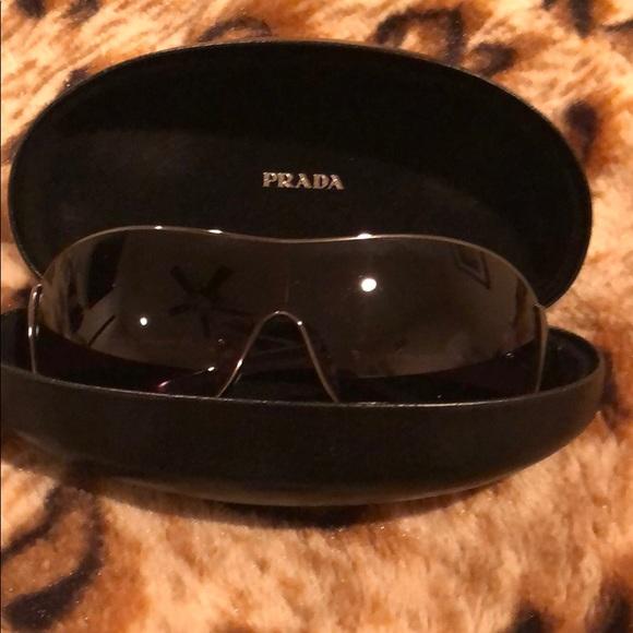 Prada Accessories - Prada sunglasses - dark grey